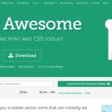 [一勺烩]CSS3中常用字体图标库总结